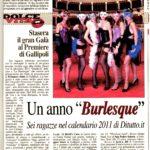 3.12.2010 Nuovo Quotidiano di Lecce