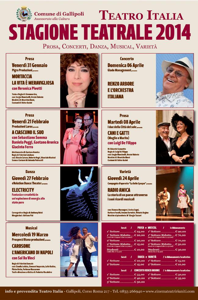 teatro milano 7 dicembre 2013