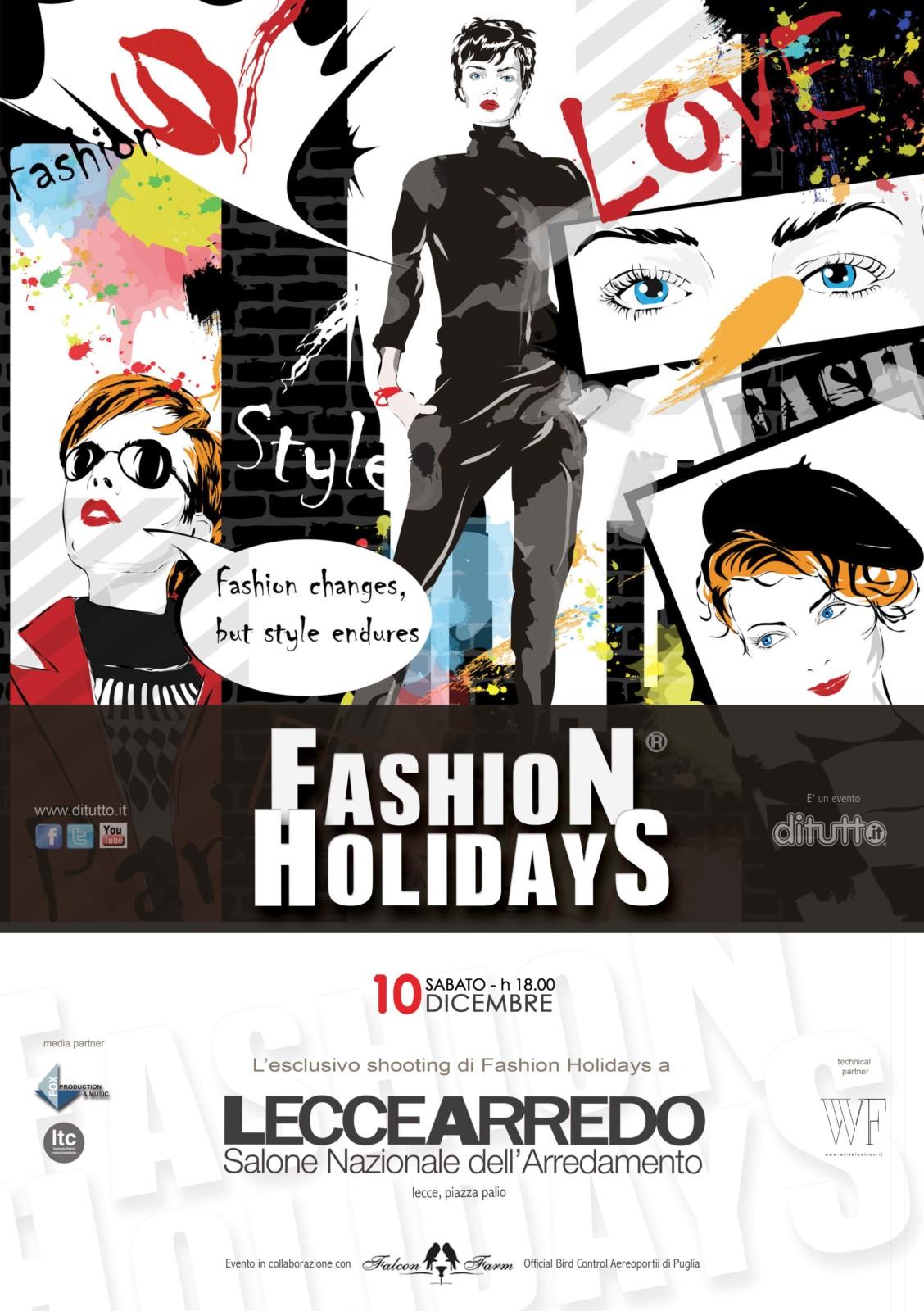 10 dicembre fashion holidays alla 26esima edizione di for Leccearredo
