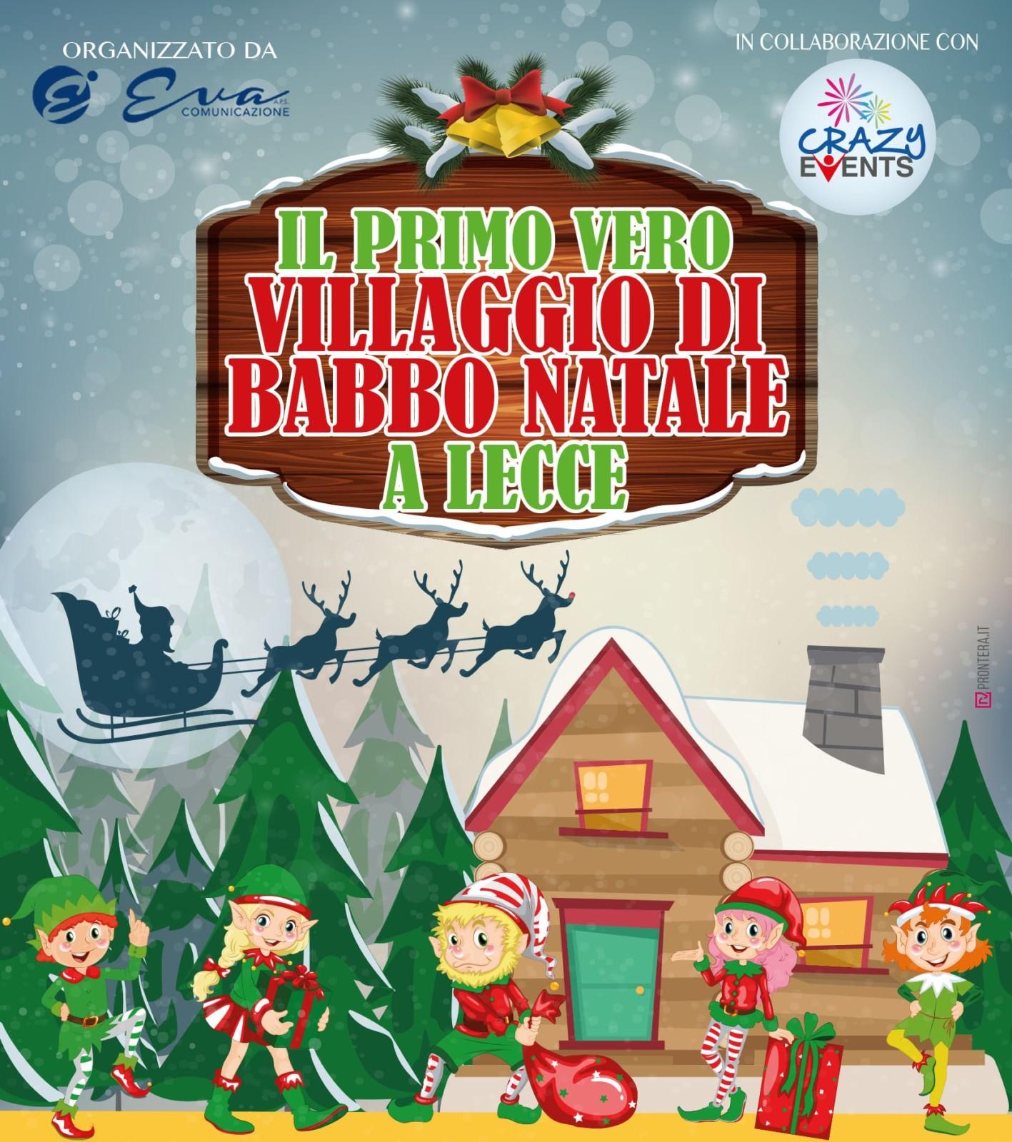 Babbo Natale Italy.Il Villaggio Di Babbo Natale A Lecce Ditutto Official Site Italy