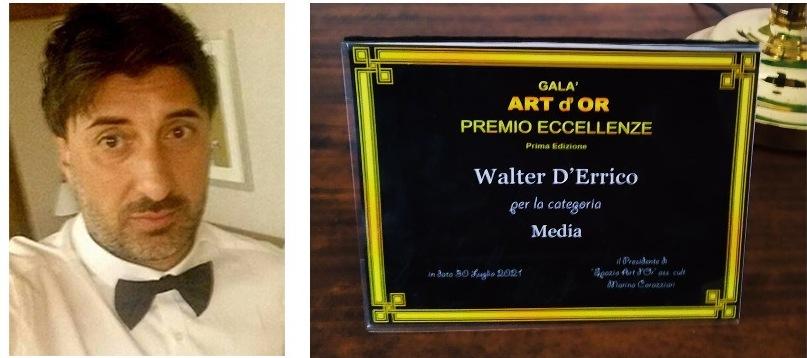 Intervista a Walter D'Errico, fondatore e direttore dello storico gruppo media